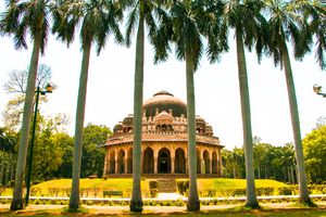 Tomb of Muhommad Shah in Lodhi Gardens
