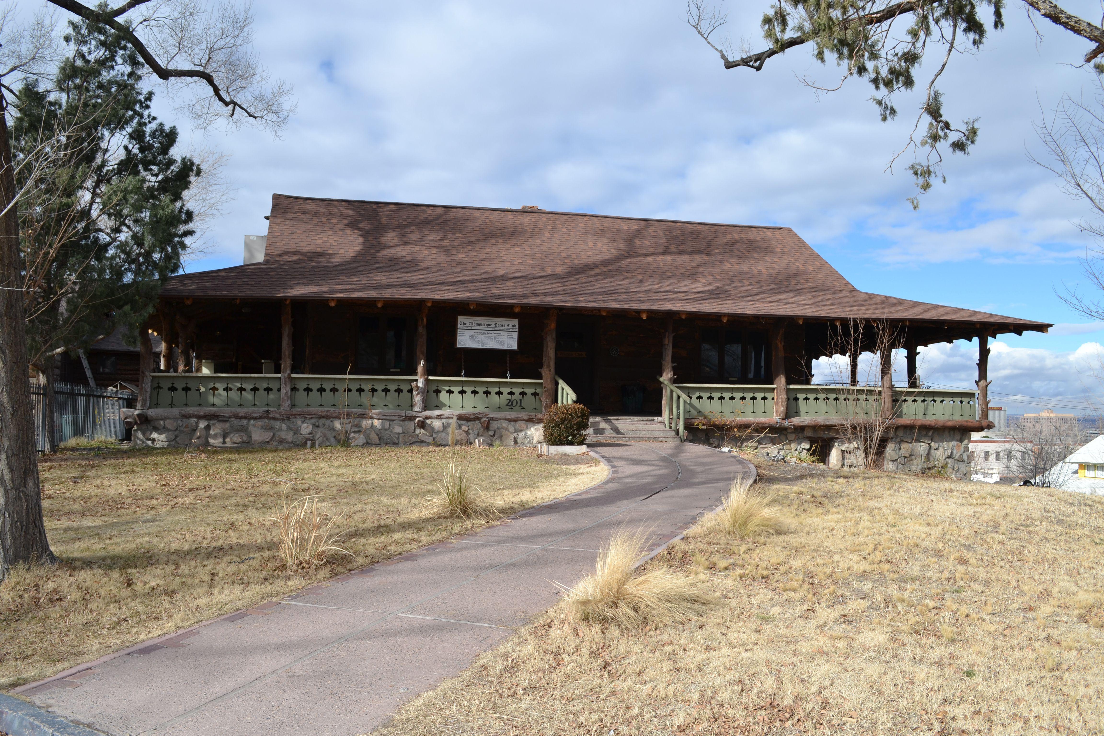 Whittlesey House en Albuquerque, hogar del Albuquerque Press Club