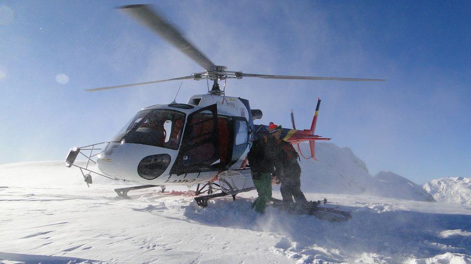 Heli Skiing at Sainte Foy Tarentaise