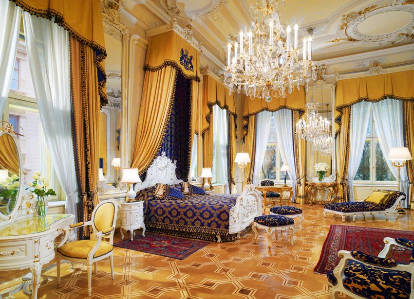 Hotel Imperial Vienna guest suite