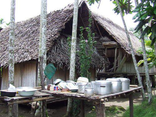 BilBil Village near Madang, Papua New Guinea