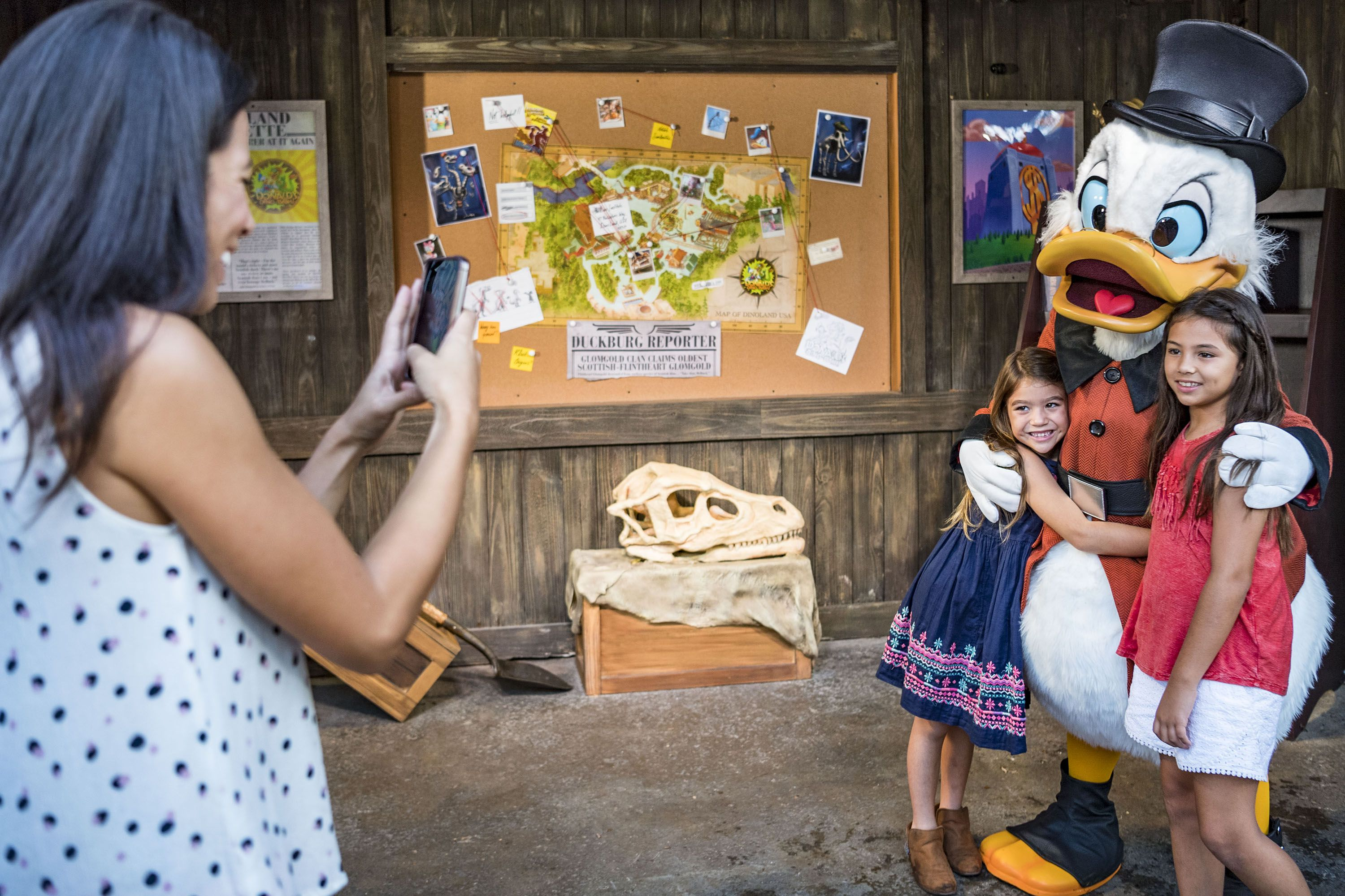 Meet and Greet with Scrooge McDuck