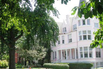 Saint James Court Pink House