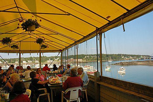 Thurston's Lobster Pound Bernard Maine Seafood Restaurant