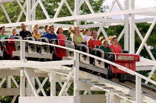 High Roller coaster at Valleyfair.