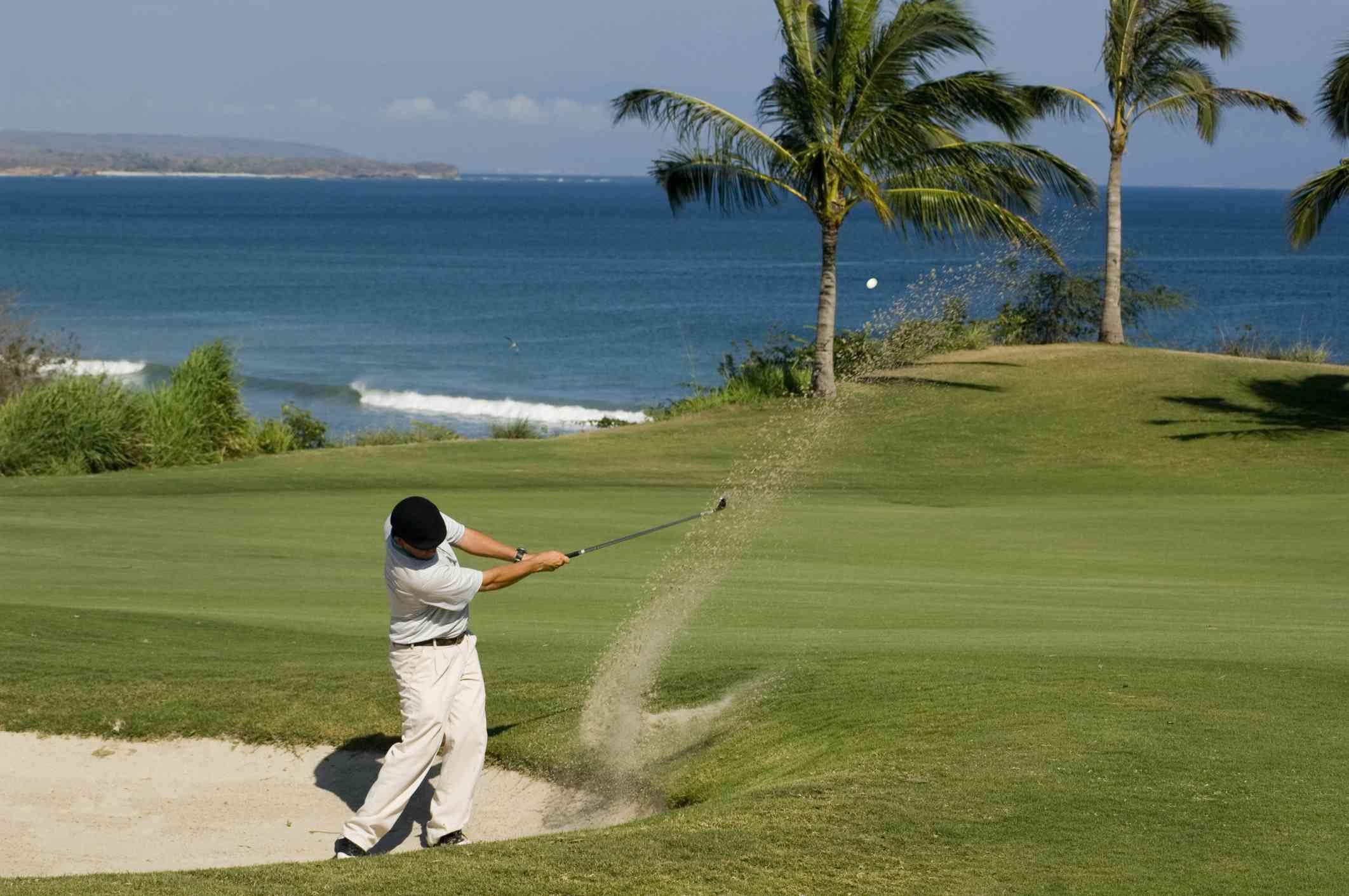 Golfing in Punta Mita