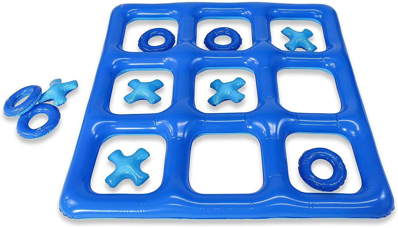 Poolcandy Inflatable Waterproof Jumbo Tic Tac Toe Game