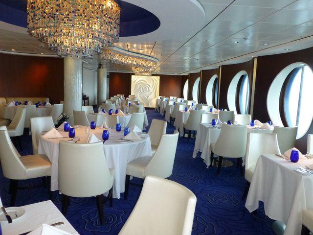 Celebrity Infinity Blu Restaurant