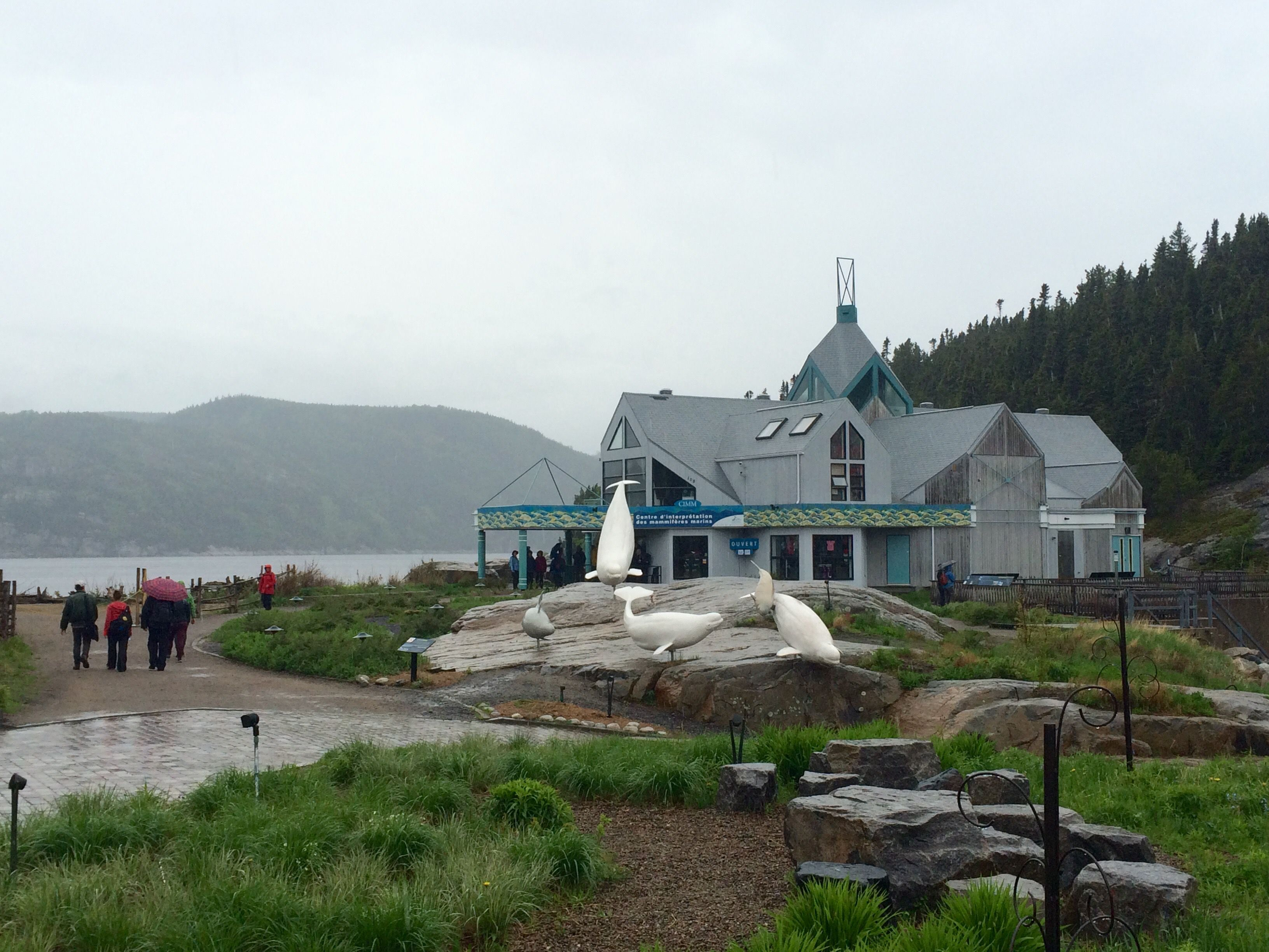 Marine Mammal Interpretation Centre, Tadoussac, Quebec