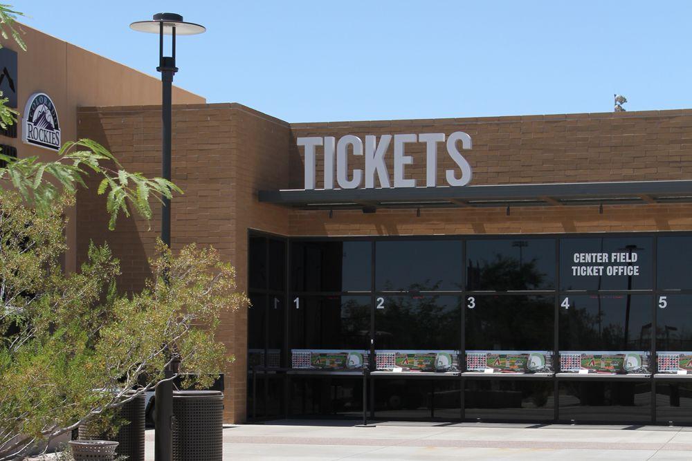Ticket Box Office at Salt River Fields