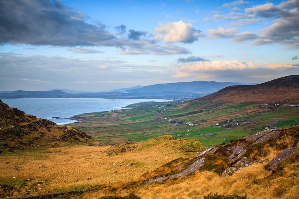 "The Landscape of the ""Ring of Kerry"" in County Kerry, Ireland"