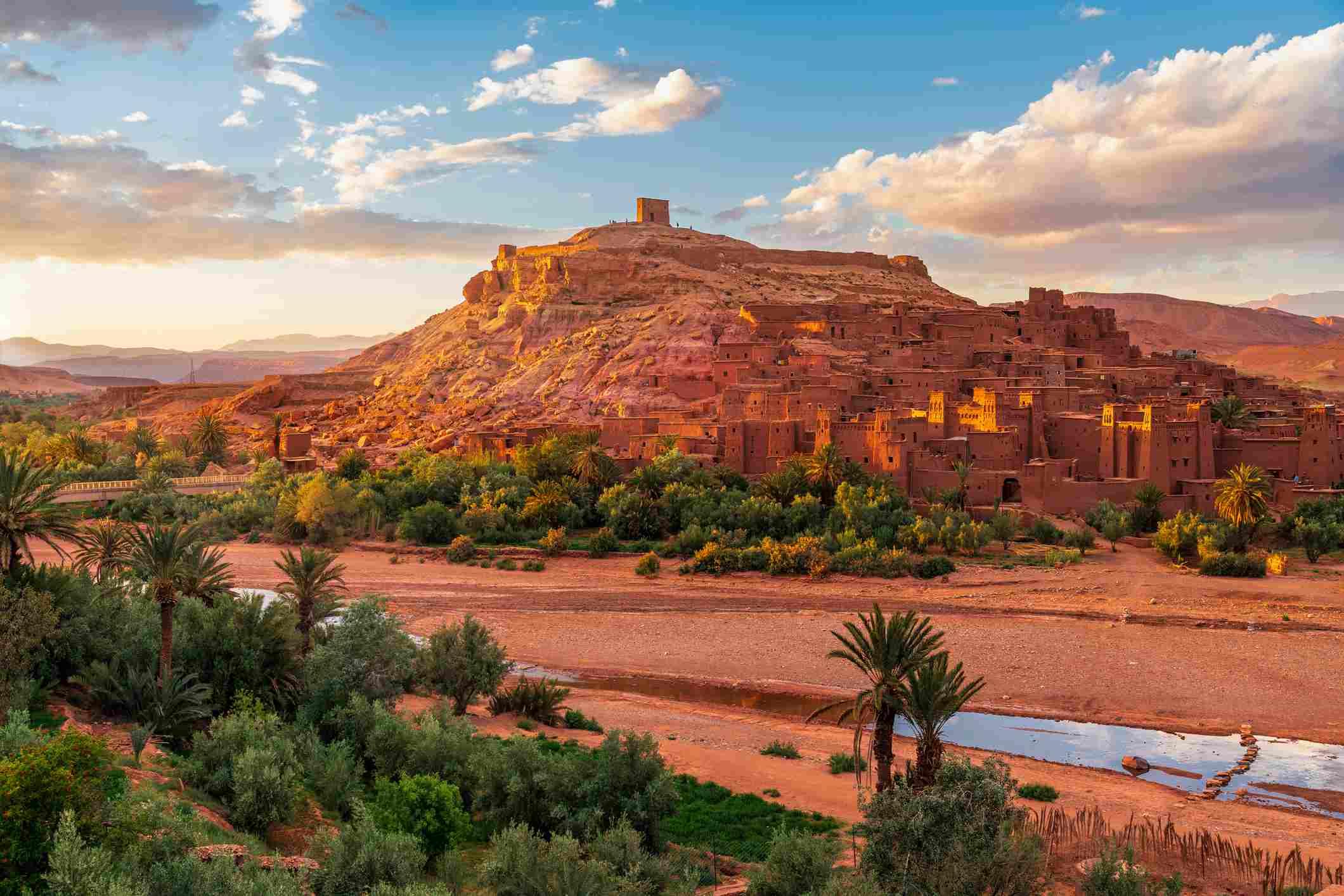 Ait Benhaddou ksar near Ouarzazate, Morocco