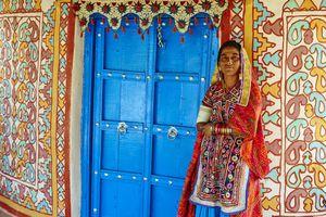 India, Gujarat, Kutch, Hodka village