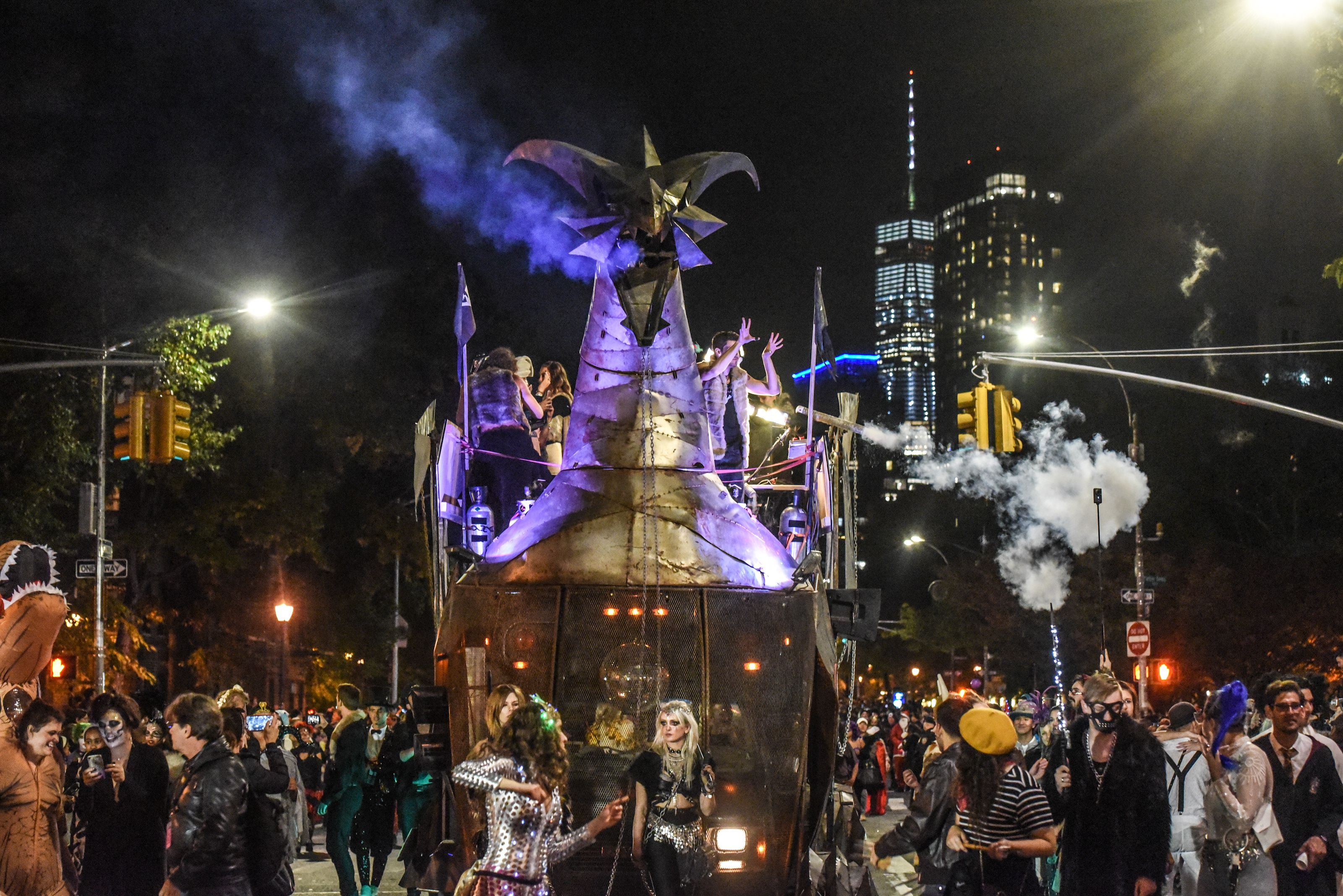 New York City Halloween Parade.The Best Parades In New York City