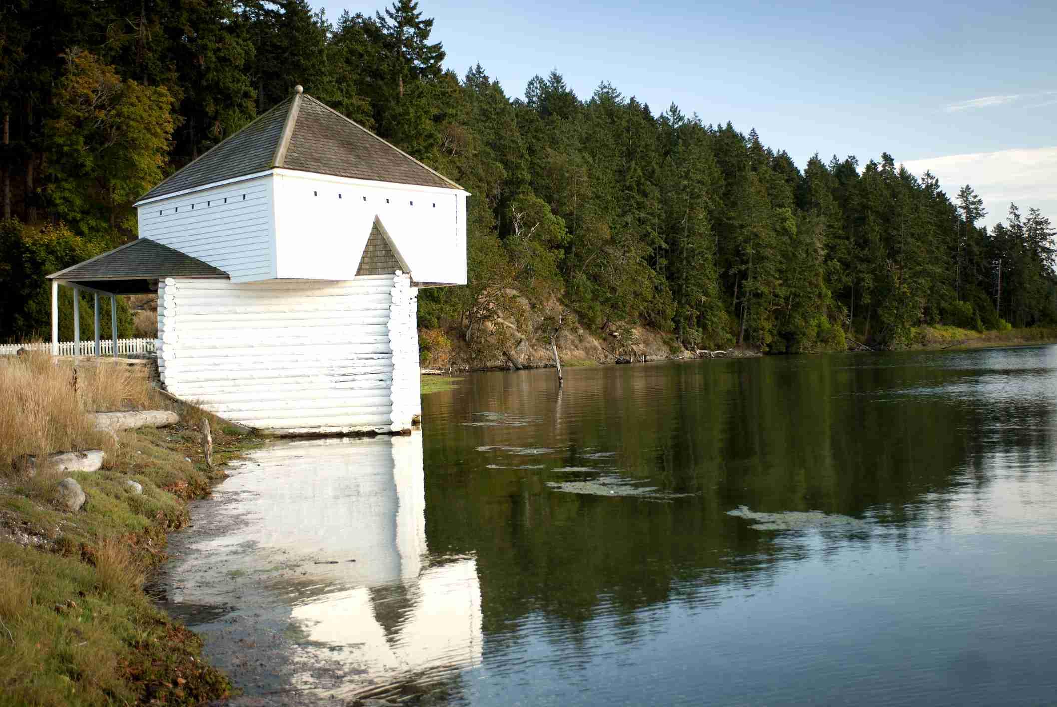Taman Bersejarah Nasional San Juan Island;  Pulau San Juan;  Washington State
