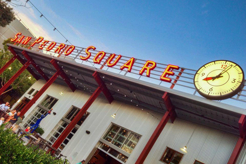 Visiting San Pedro Square Market, San Jose
