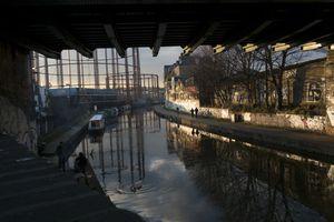 Regent's Canal in Hackney, London
