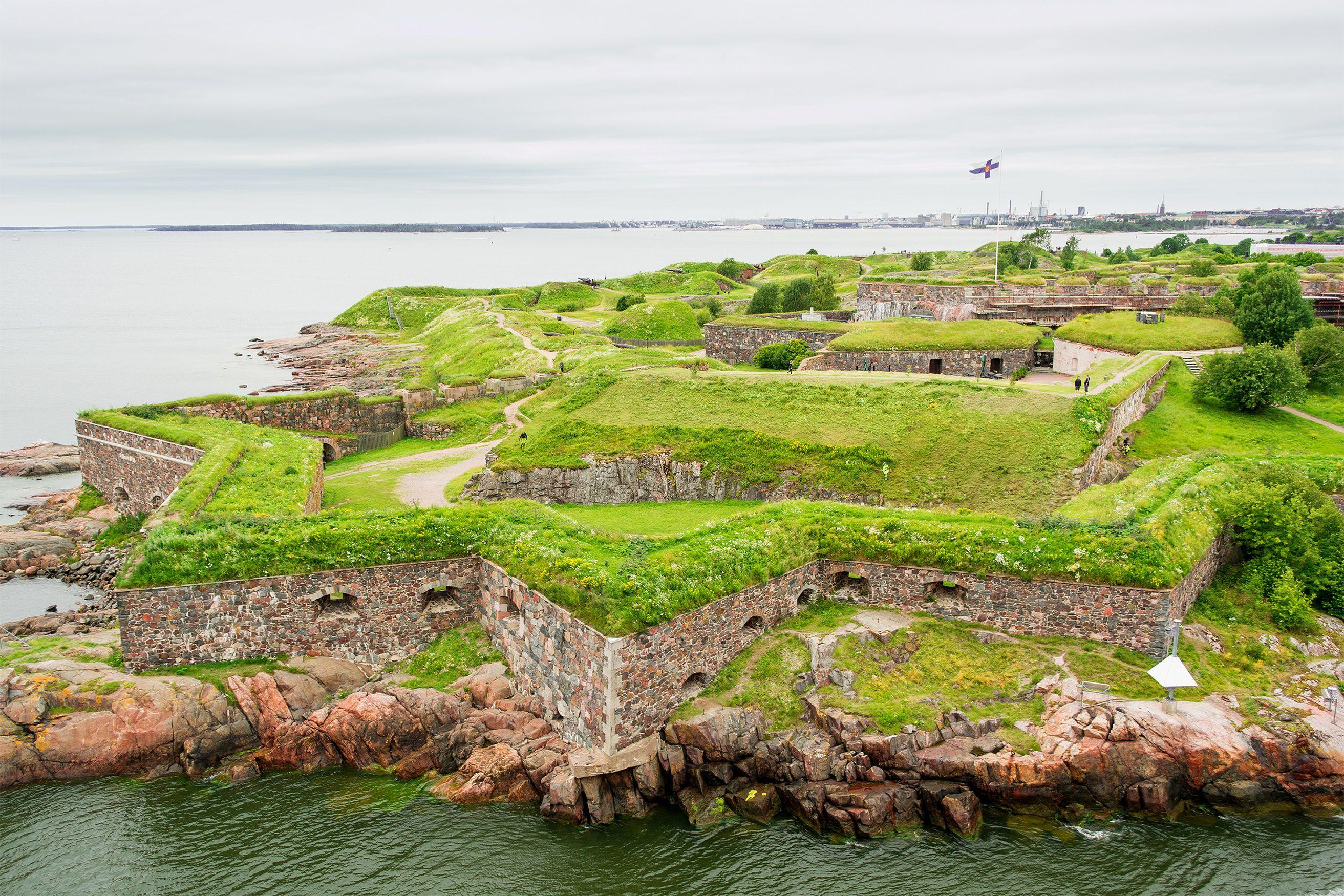 Fortaleza Suomenlinna, Helsinki, Finlandia