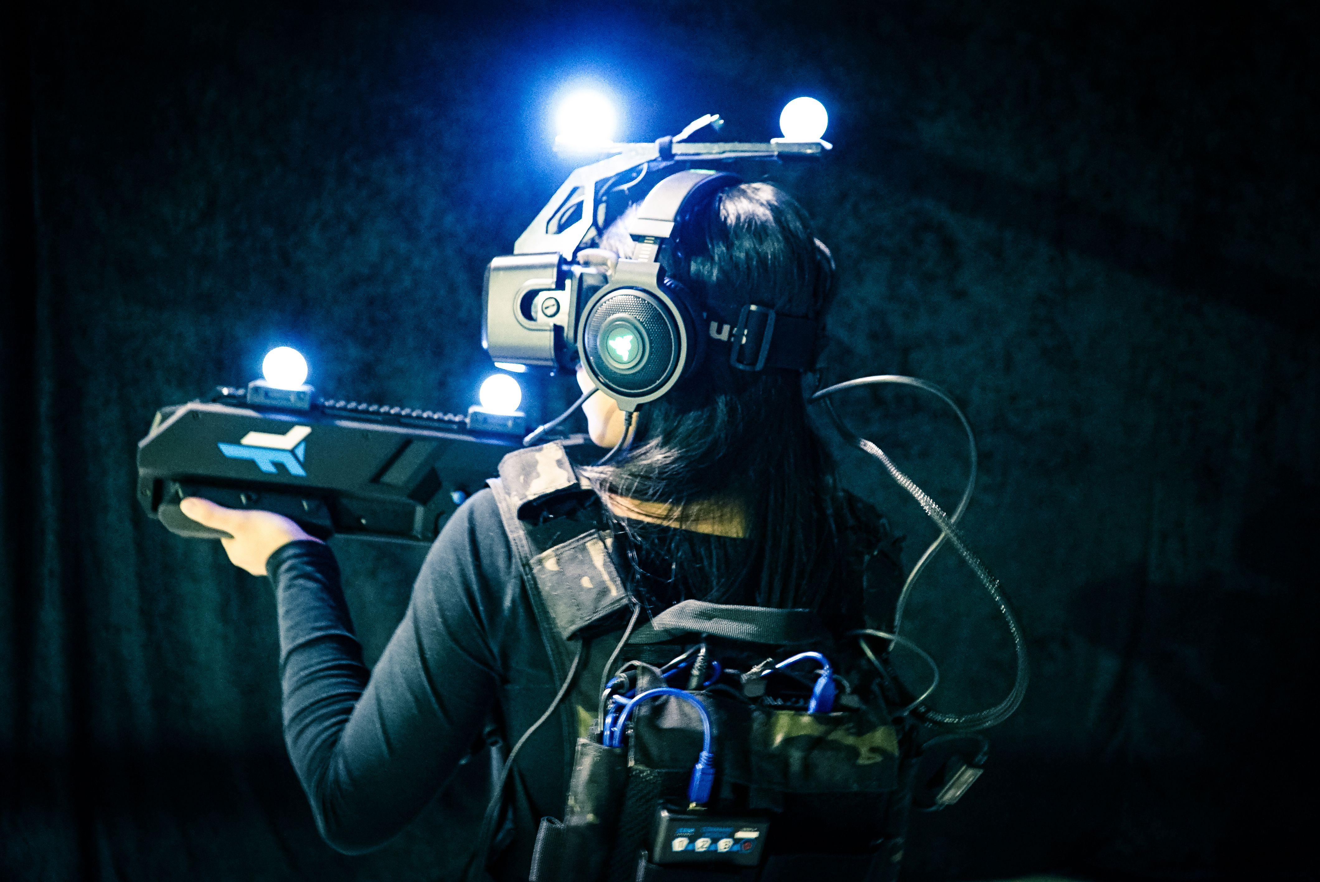 Virtual Reality experience at Kalahari Resort Poconos