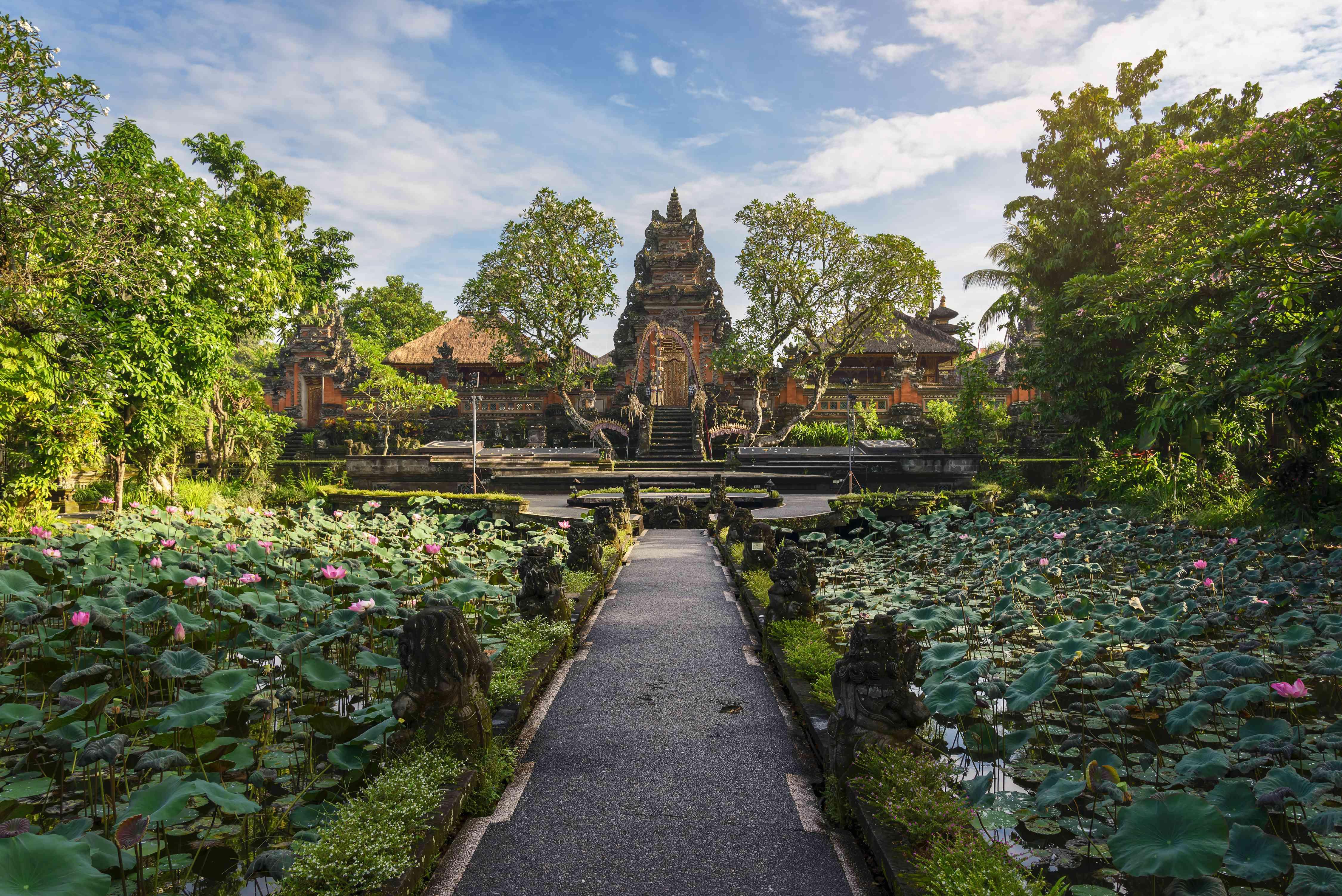 A temple in Ubud, Bali