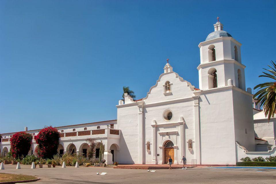 Misión San Luis Rey Exterior