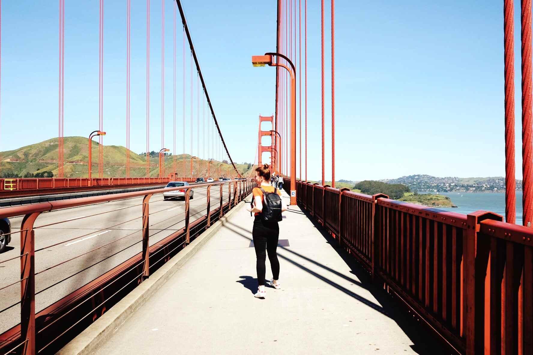 Fort Point National Historic Site Under The Golden Gate Bridge
