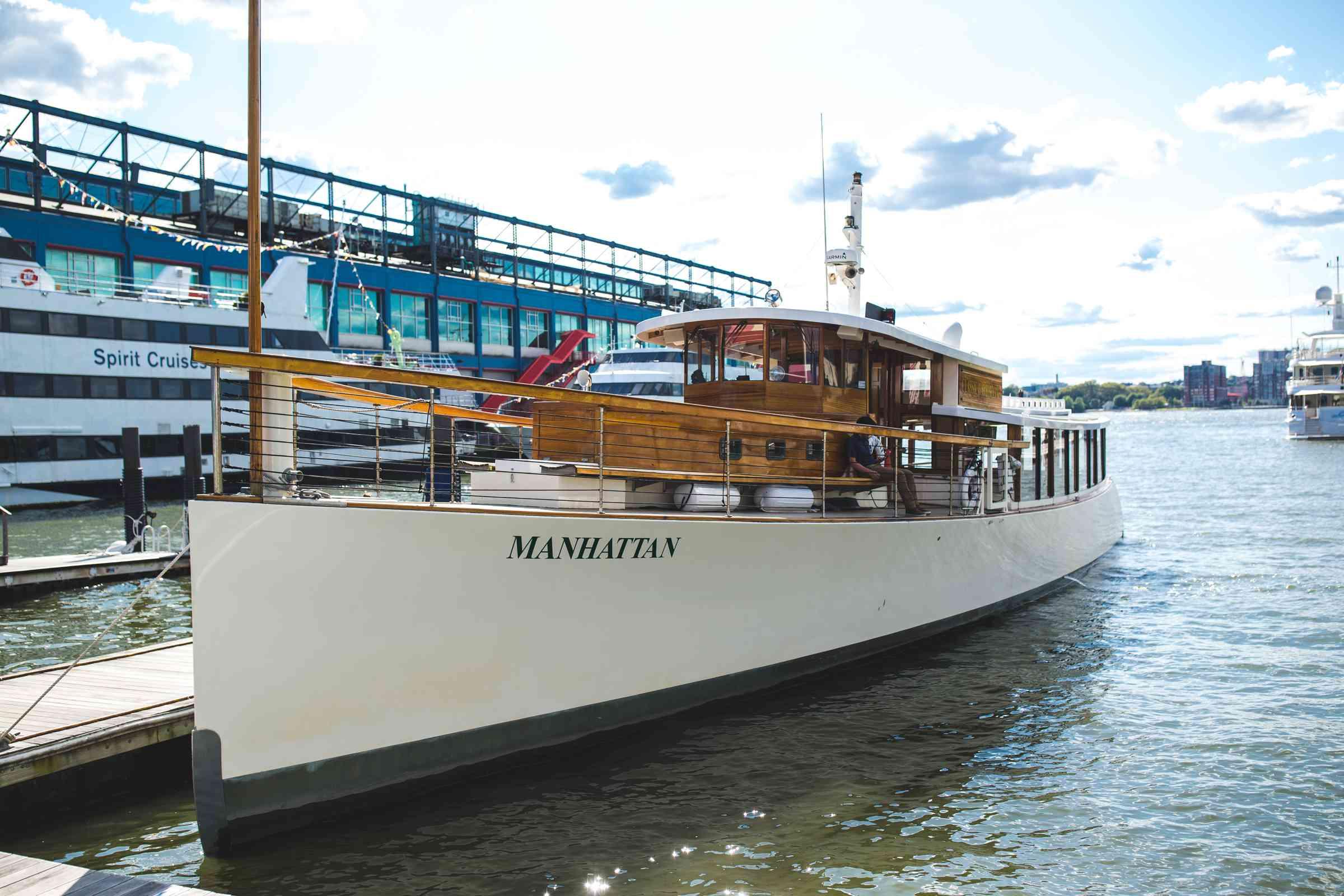Crucero Harbour Line en la ciudad de Nueva York, Nueva York