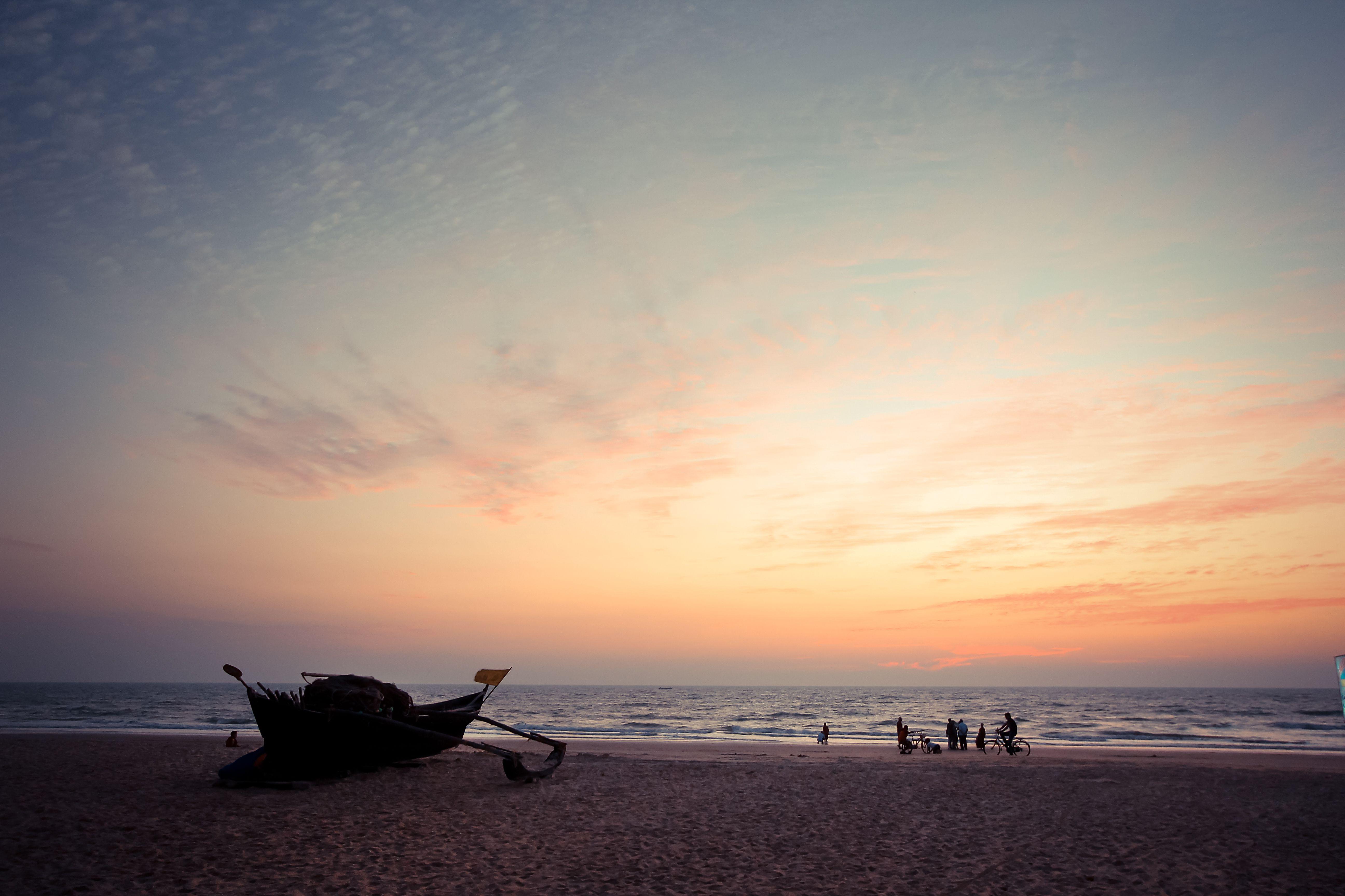 Varca Beach Sunset