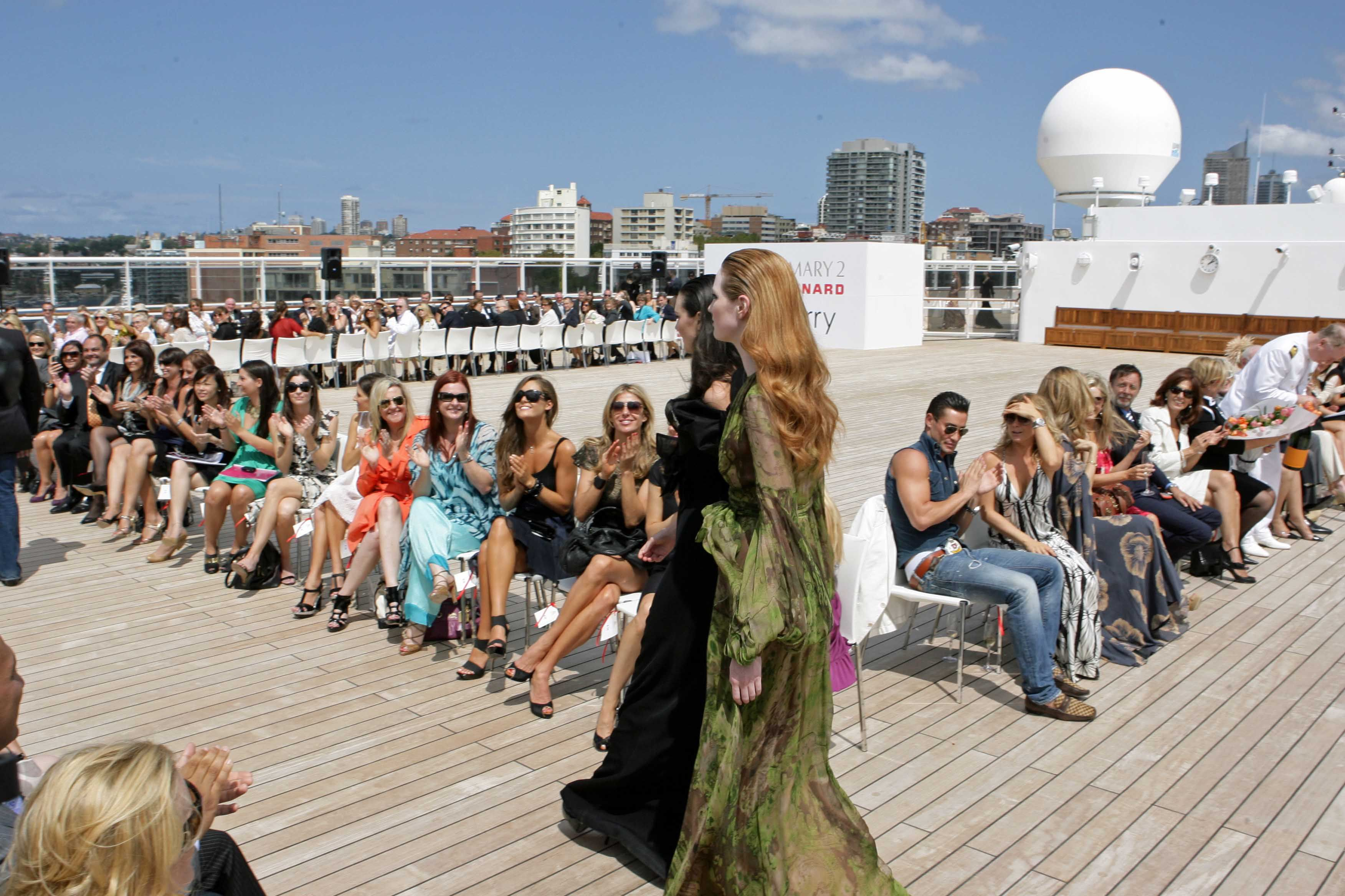 Art shows and fashion shows can run up cruise expenses.
