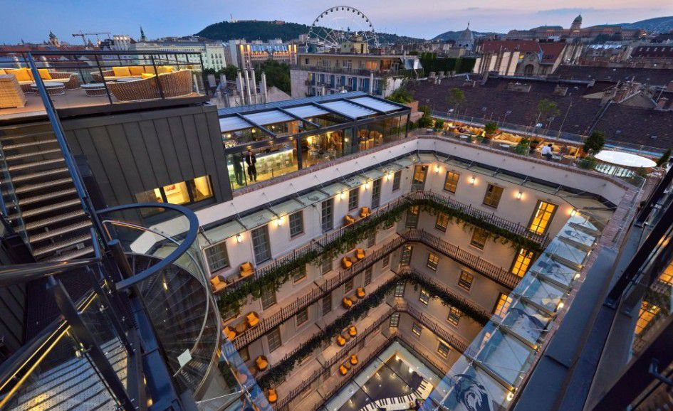 Aria Hotel Budapest By Library Collection