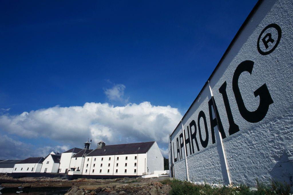 Distillery on Islay