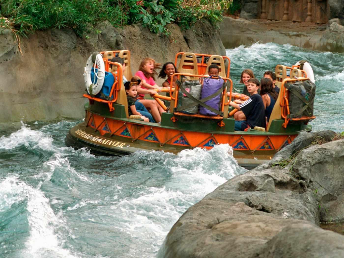 Disney World Animal Kingdom Kali River Rapids