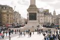 People in Trafalgar Square
