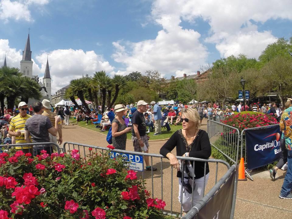 Festival del Barrio Francés en Jackson Square
