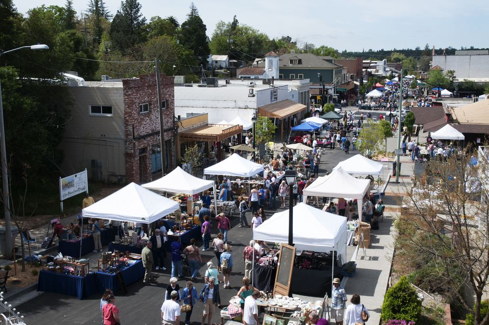 Folsom Spring Antiques Fair