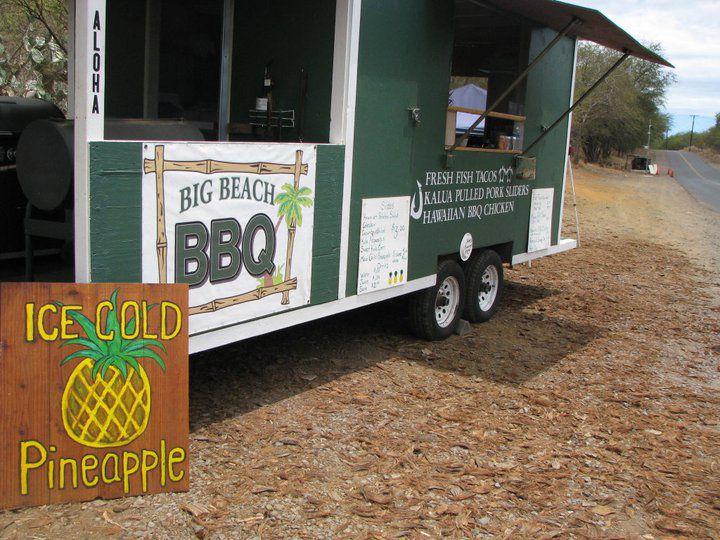 Big Beach BBQ, Makena, Maui