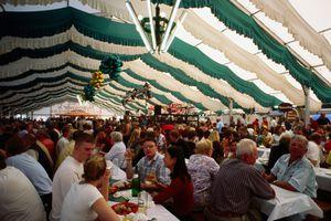 Bad Dürkheim Wurstmarkt tent