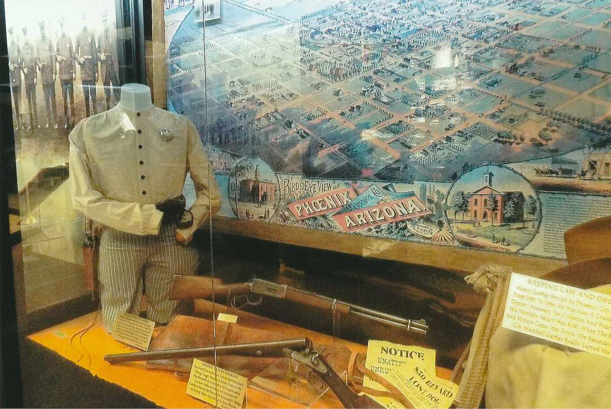 Exhibición en el Museo de la Policía de Phoenix