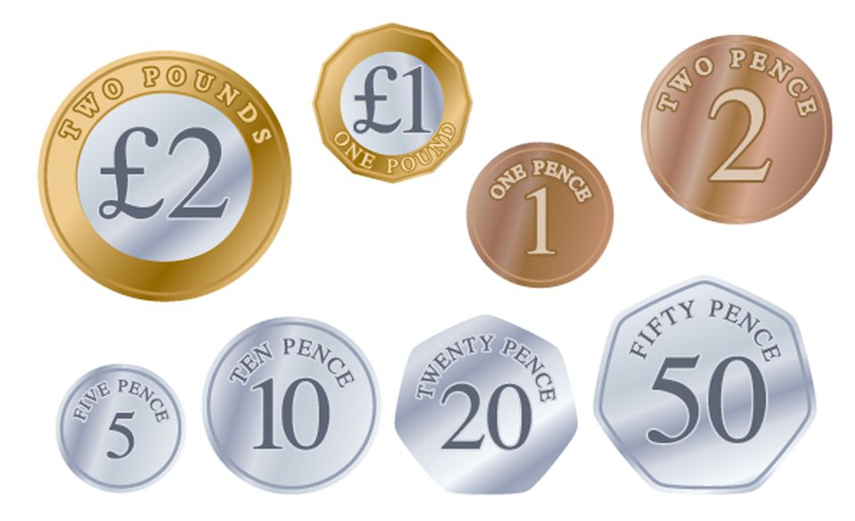 British coins in 2018