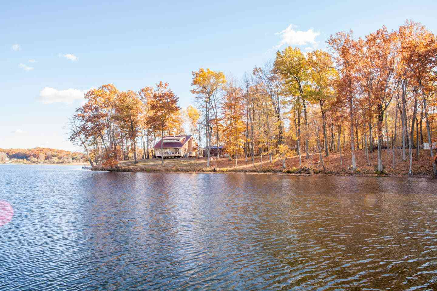 Private Island with Treehouse and Pontoon Boat