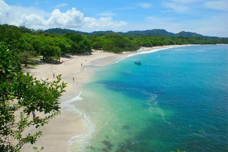 Overlooking Playa Conchal in Costa Rica