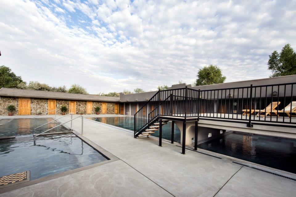 Hot springs at Miracle & Banbury Hot Springs in Idaho