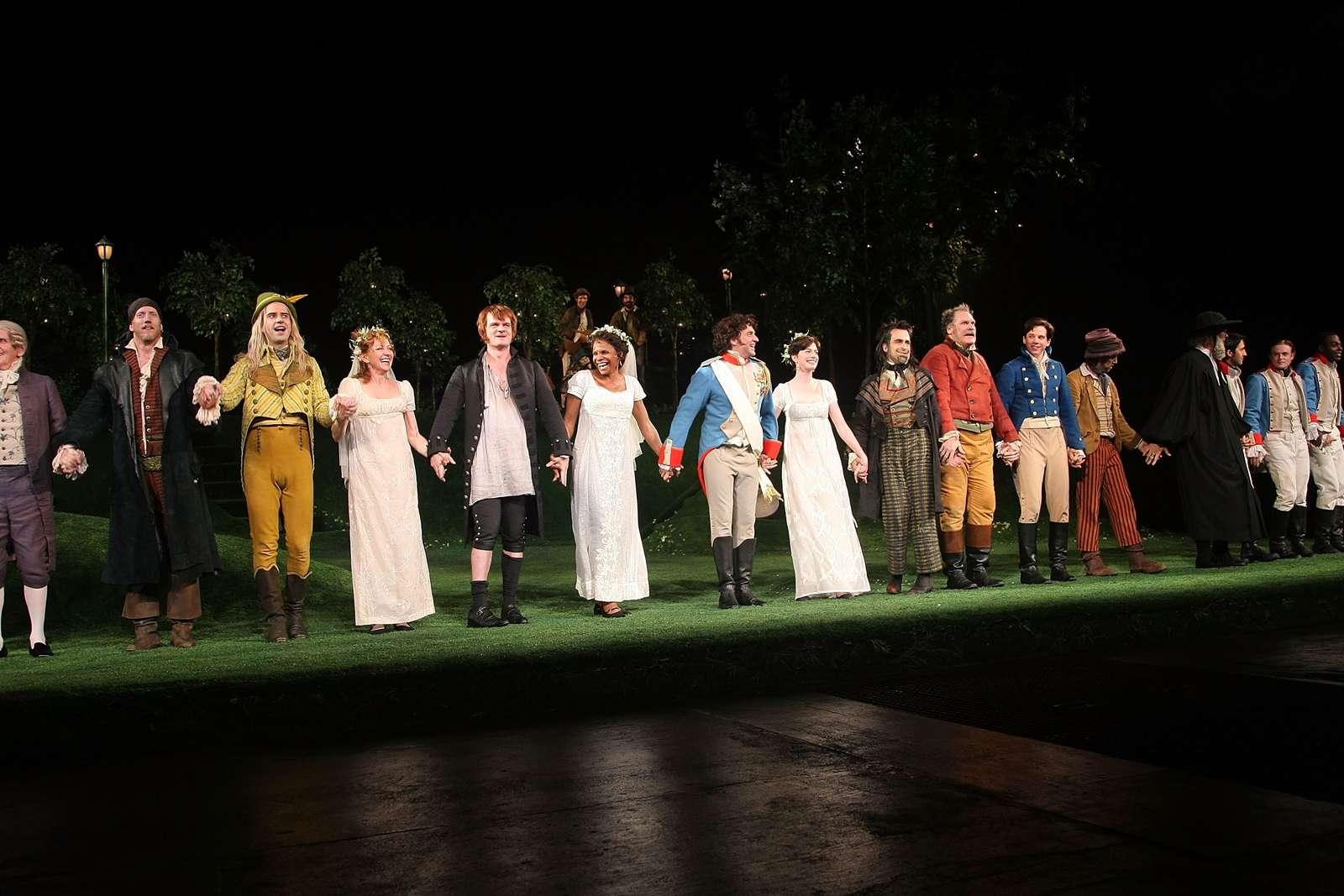 Shakespeare en la gala de la noche inaugural del parque
