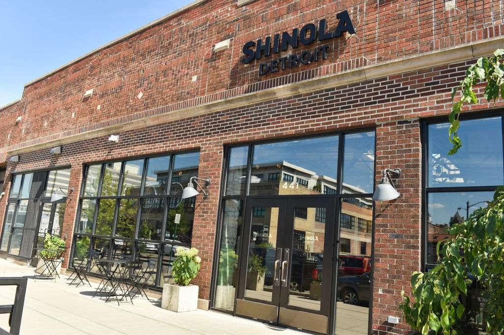 Shinola's flagship store