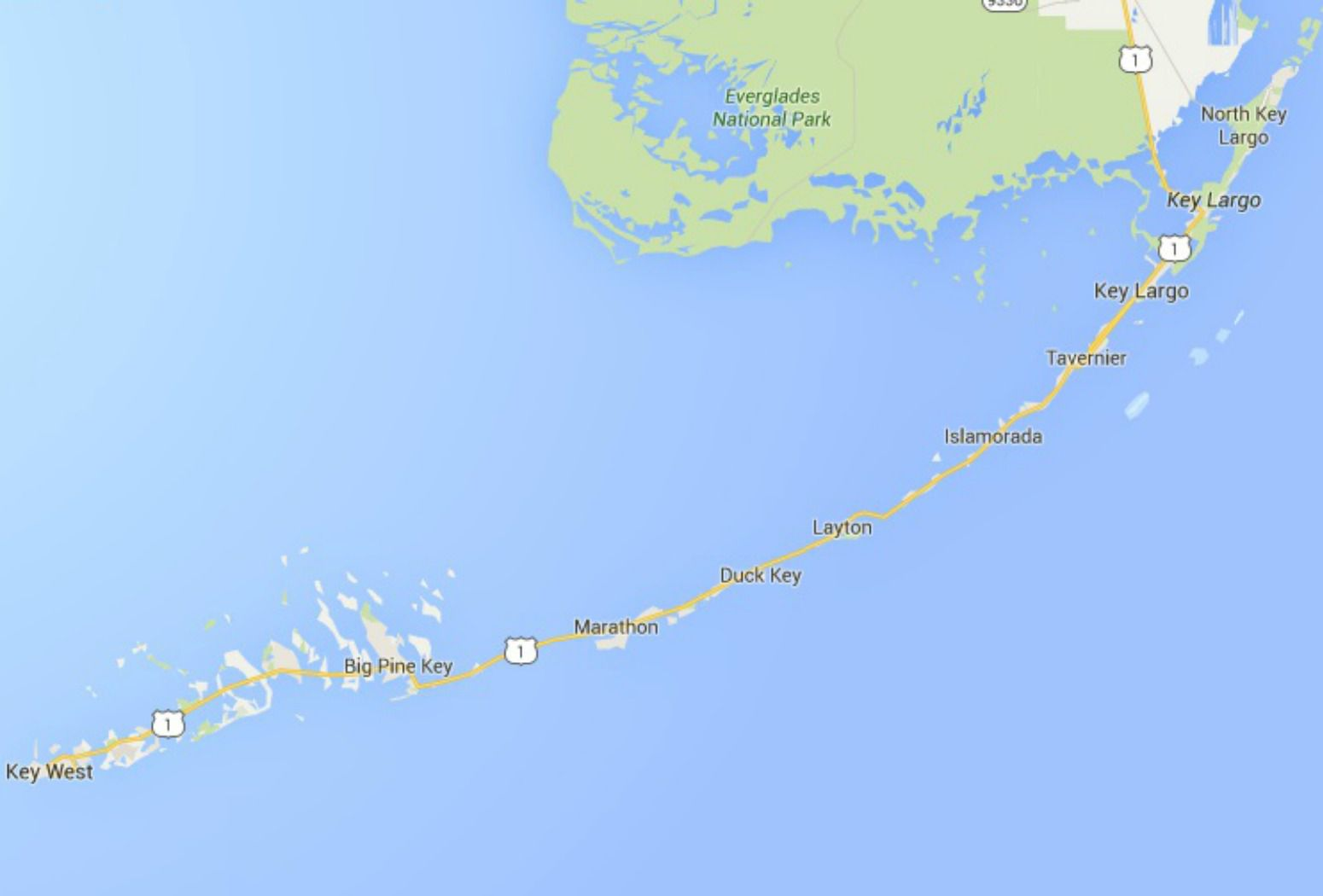 Map Florida Keys.Maps Of Florida Orlando Tampa Miami Keys And More