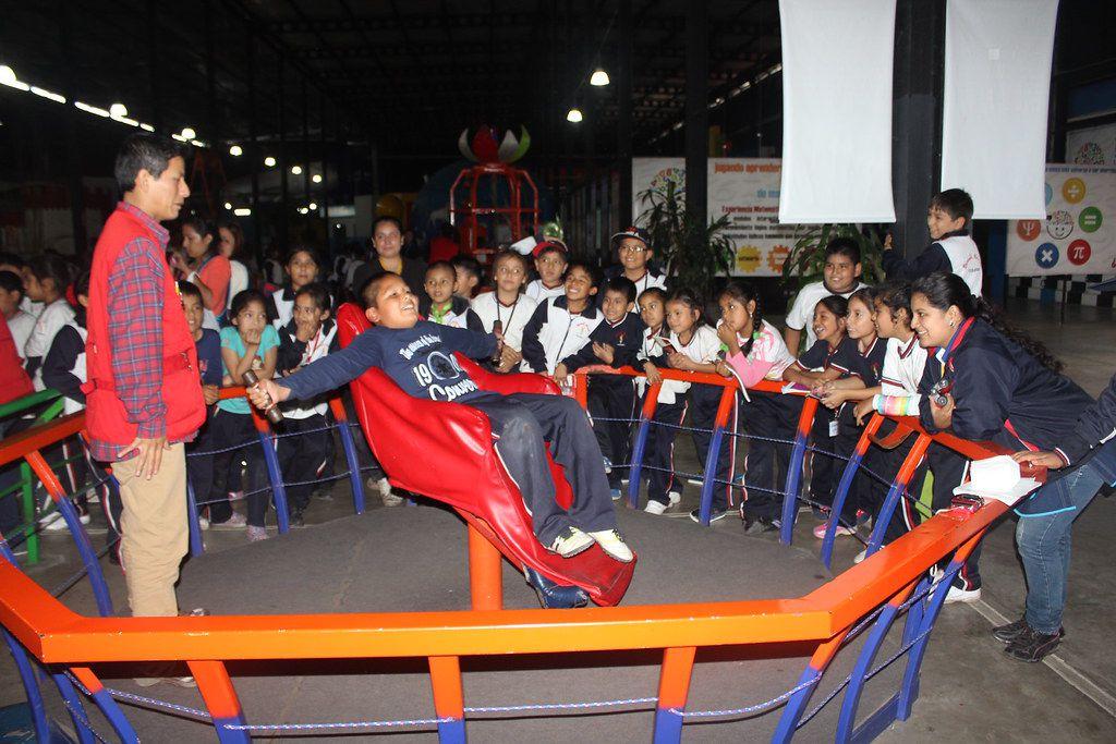 Child on Zero Gravity Ride