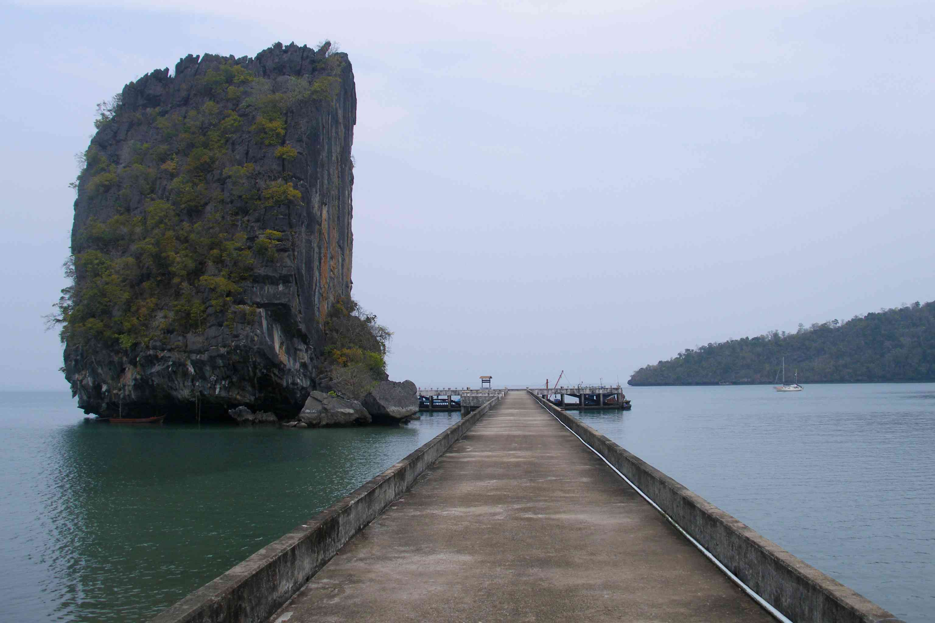 Tarutao Island, ancient limestone rock formations