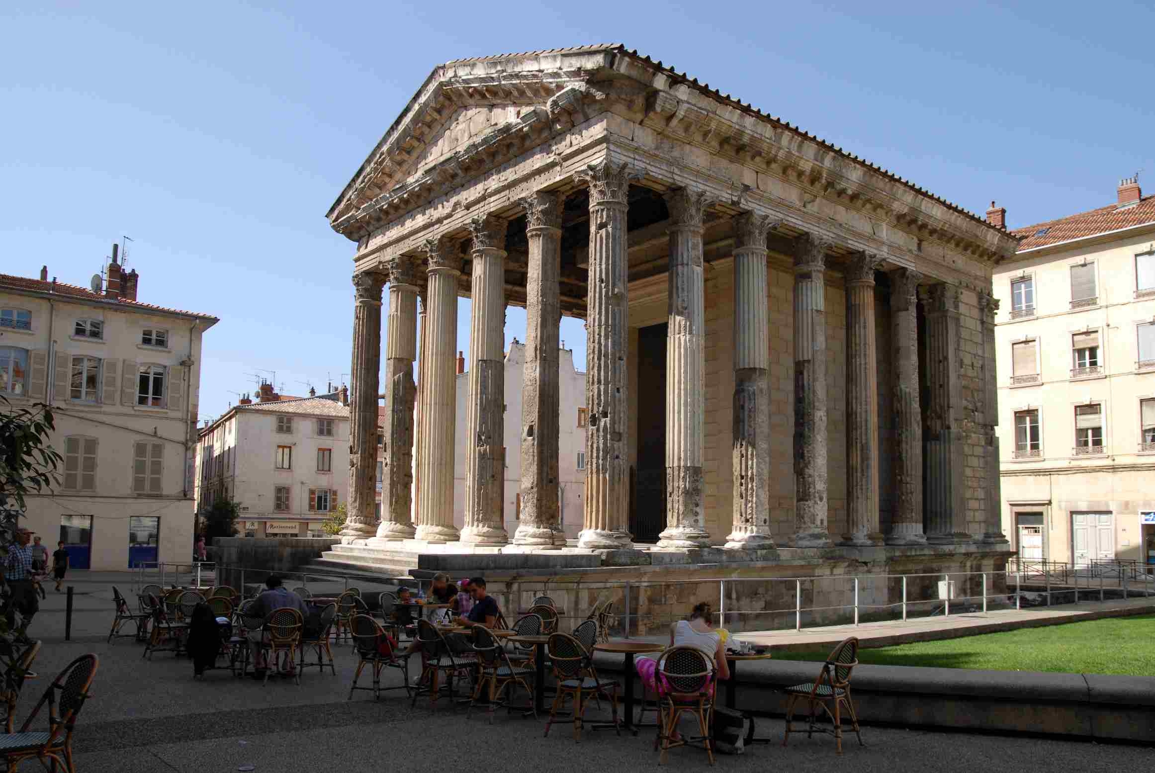 Temple d'Auguste in Vienne