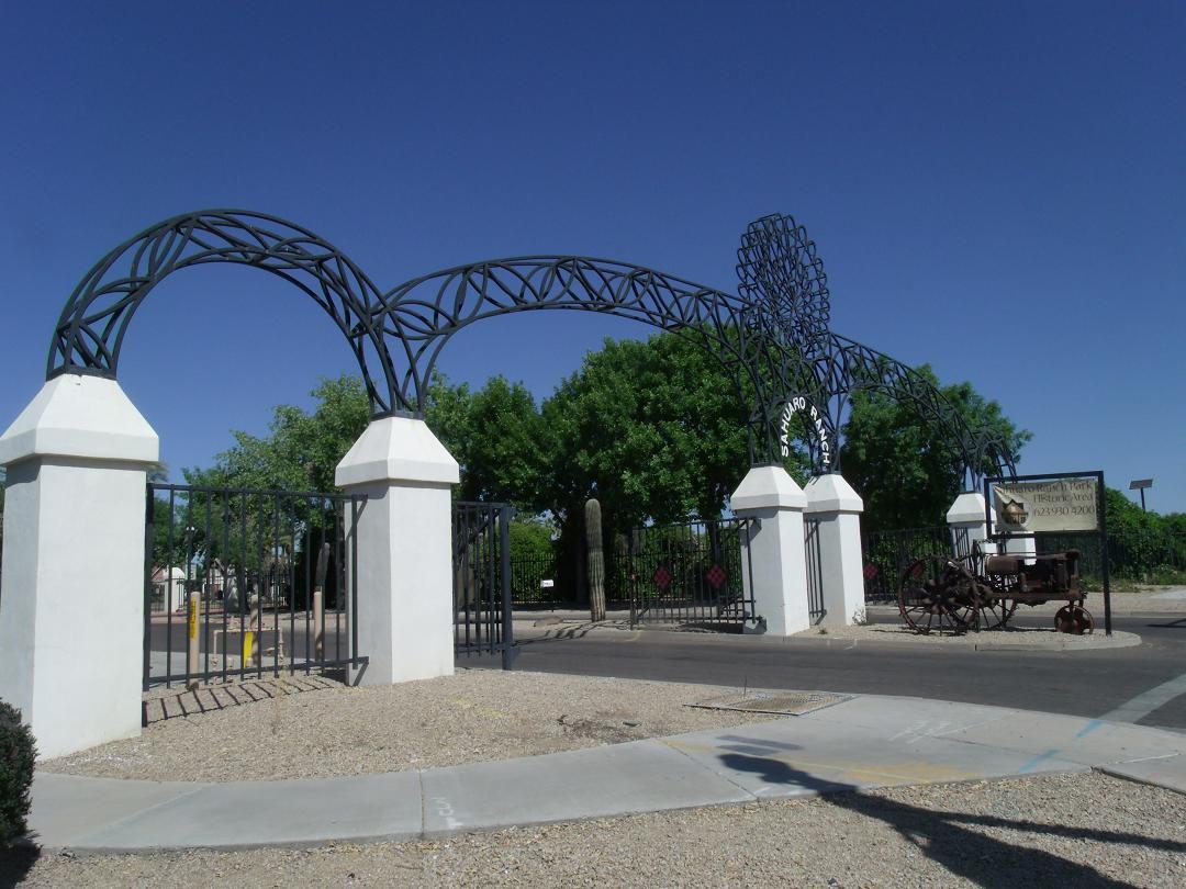 Entrada del Parque Glendale-Sahuaro Ranch