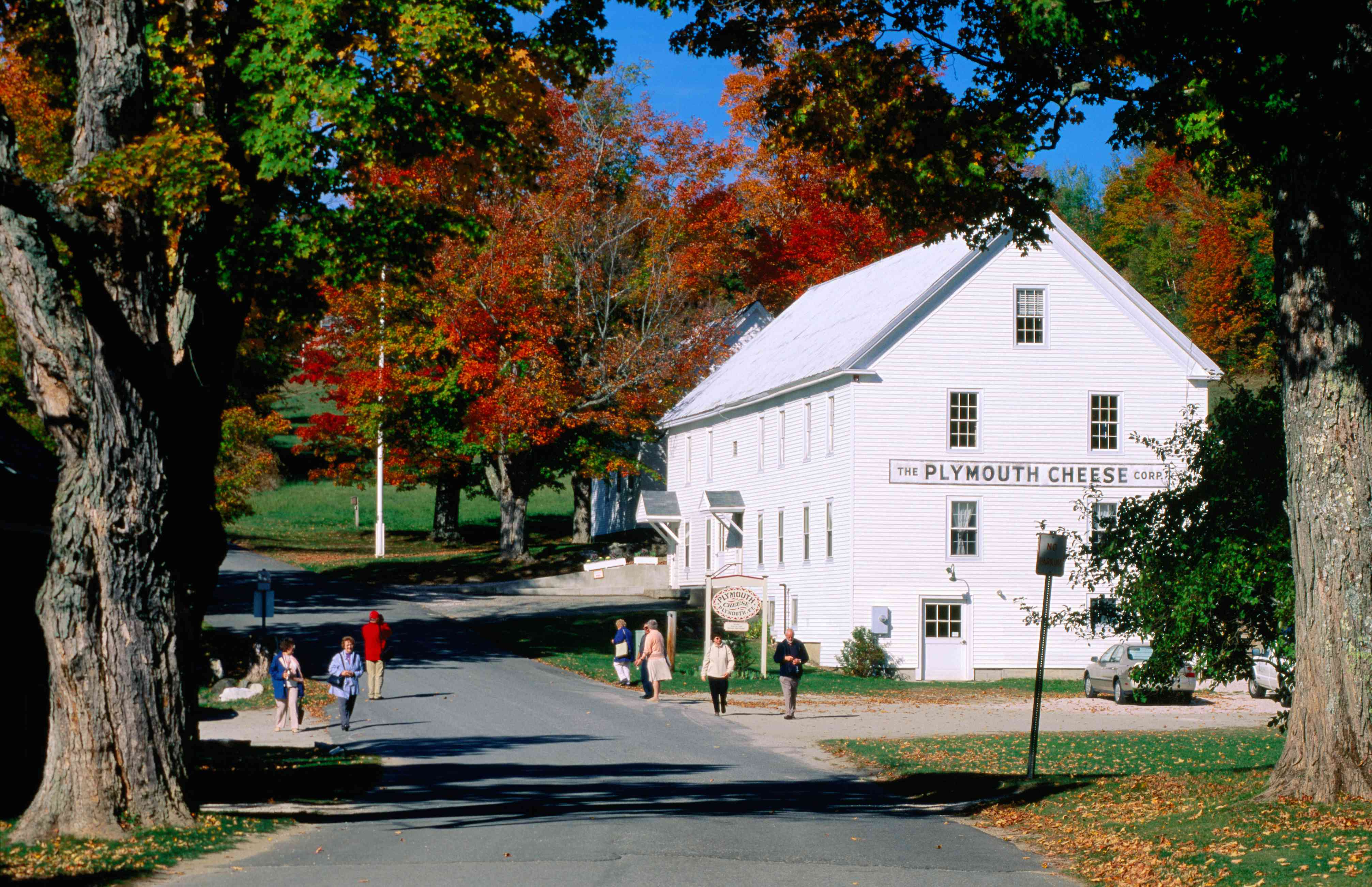 Plymouth Cheese on the Vermont Cheese Trail